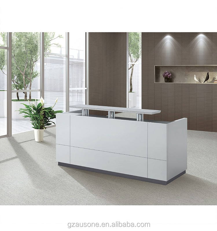 China factory Modern office reception front office desk design