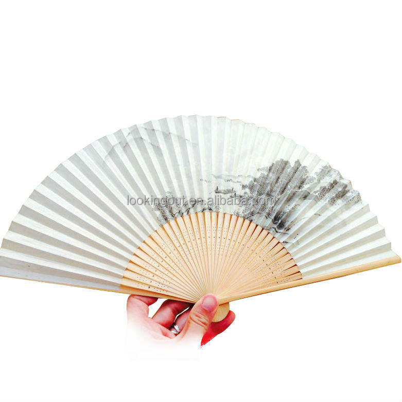 hot special high quality cheap chinese paper folding fan