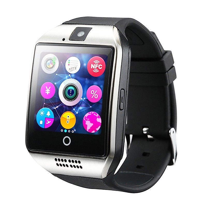Q18 Smart Watch Touch screen with Camera,Unlocked Watch Cell Phone with Sim Card,Smart Wrist Watch Q18