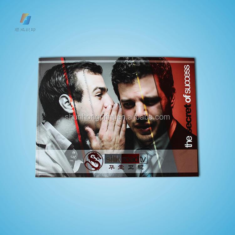 Stampa del libro softcover/catalogo/magazine/fotografia di stampa del libro