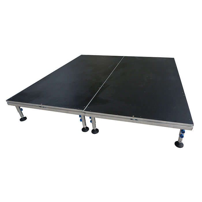 Portable assembly stage/Acrylic stage/Easy install 4 legs stage