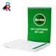 Custom Office Stationery Business No Minimum Company LOGO Custom Notepad for Office A4 160 Pages with Wire BInding