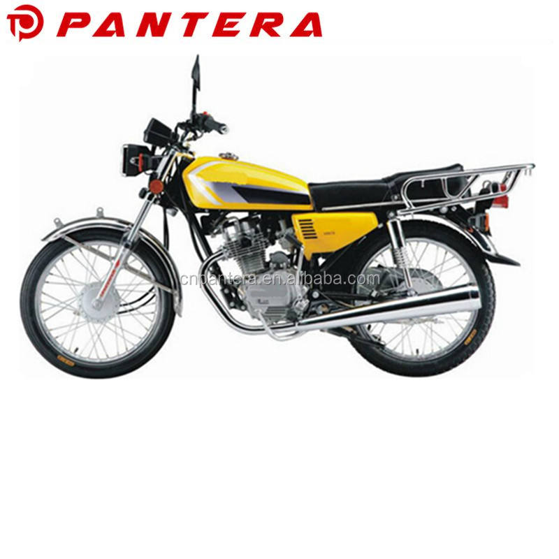 China Straat Populaire in Nigeria Mark 125cc 4-Stroke Motorfiets