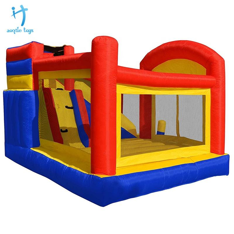 Best Prices Kids Game Play Inflatable Bouncy Castle With Slide