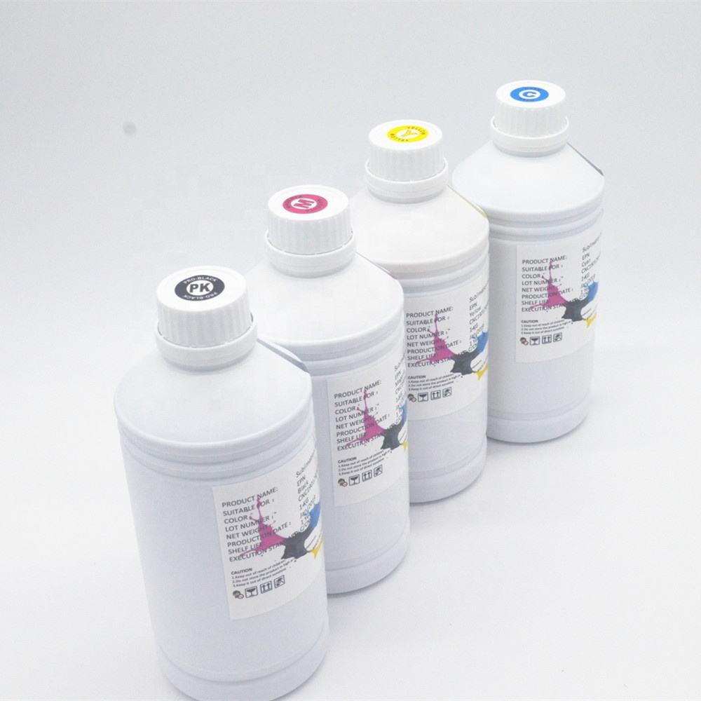 Factory supply vivid color and high concentration sublimation ink for polyester fabric