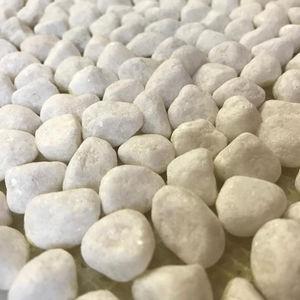 Оптовая продажа высокое качество упали белоснежная Галька Мощения плоской речной камень