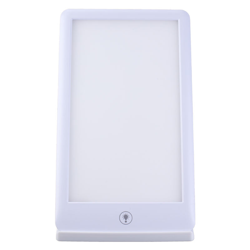 6500k acrylic board with ABS frame sunlight led daylight lamp adjustable stand 10000Lux therapy lamp