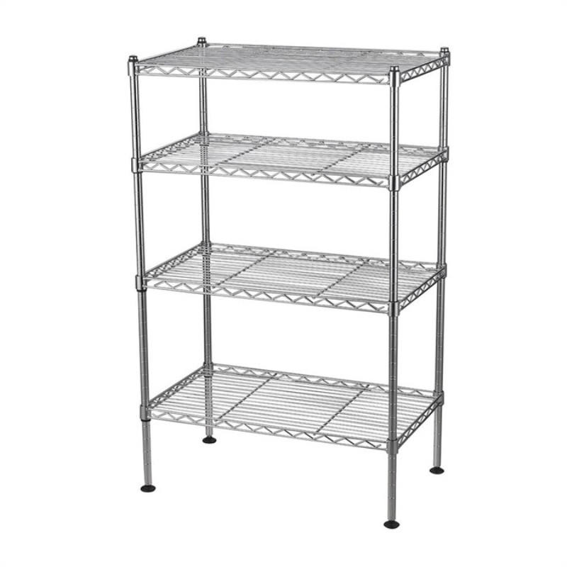 stainless steel shelf China custom metal wire shelf rack