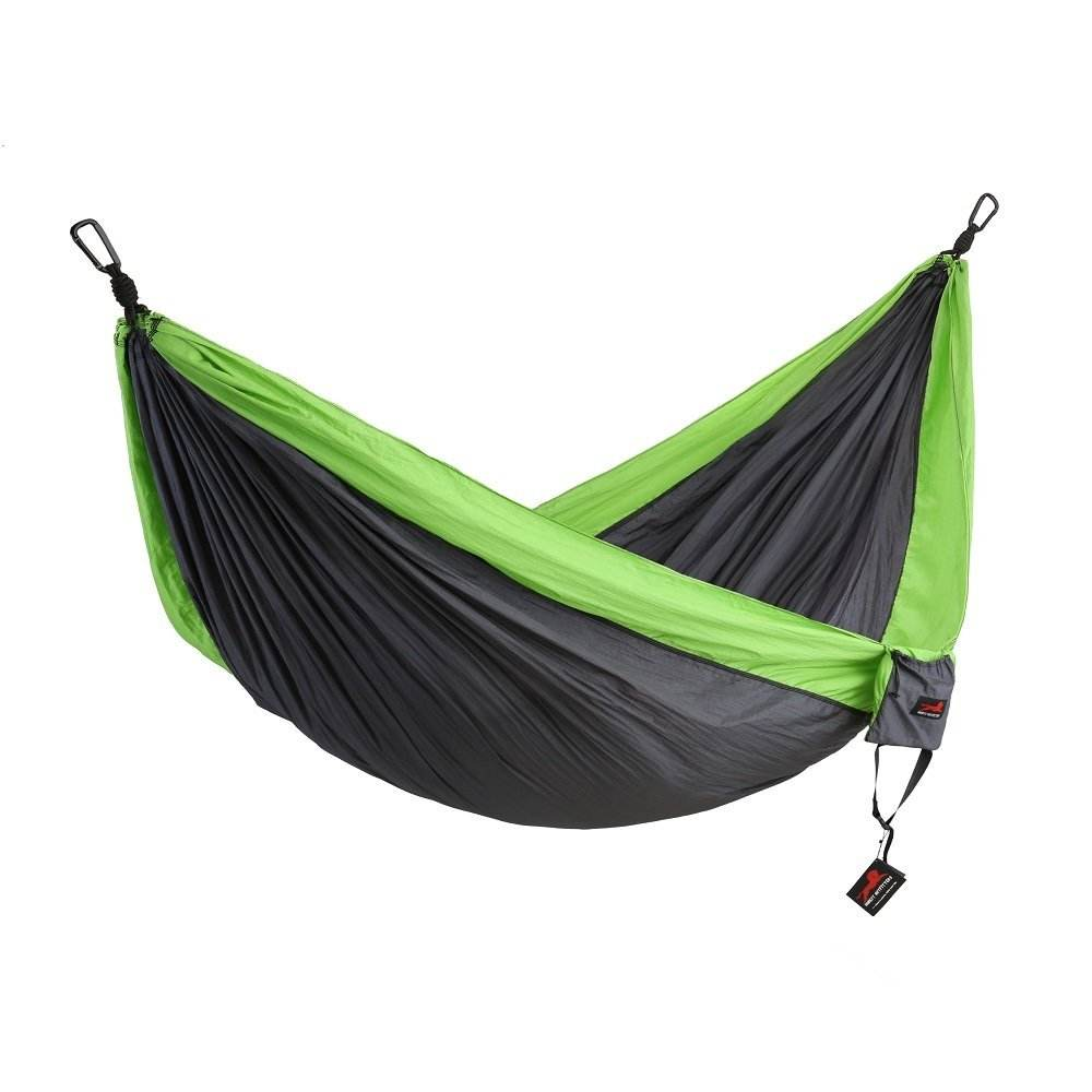 Outdoor tragbare zwei person 210 T ripstop nylon fallschirm stoff durable folding <span class=keywords><strong>camping</strong></span> <span class=keywords><strong>hängematte</strong></span>