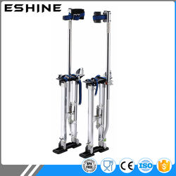 "Aluminum Tool Stilts 48"" to 64"" Adjustable Inch Drywall Stilt for Taping Painting Painter RED SILVER BLUE"