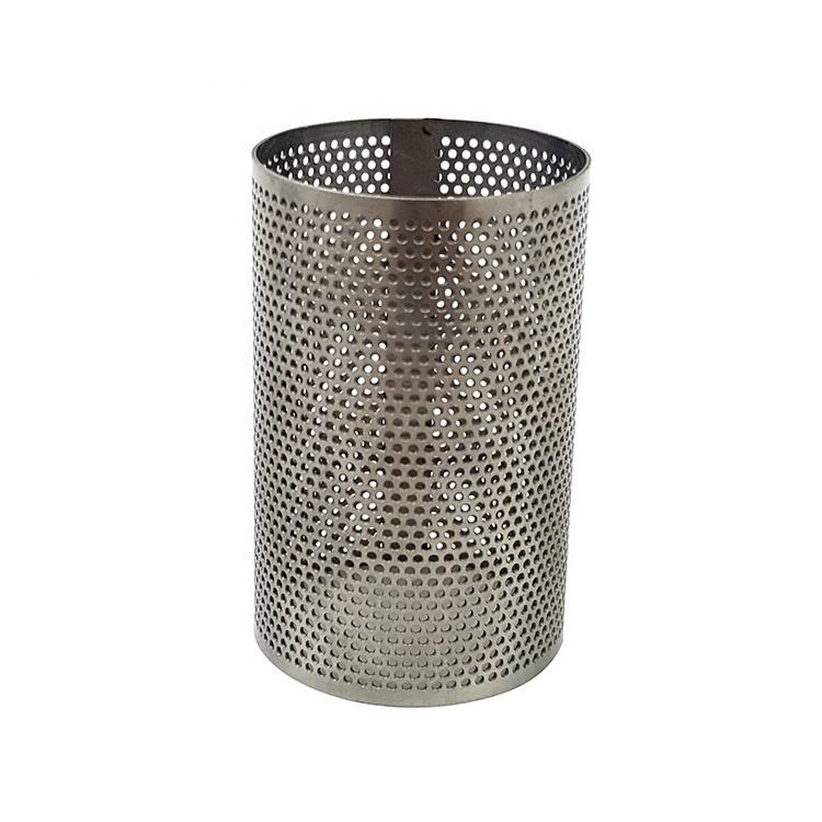 Rvs geperforeerde micro metal mesh screen filter pijp buis