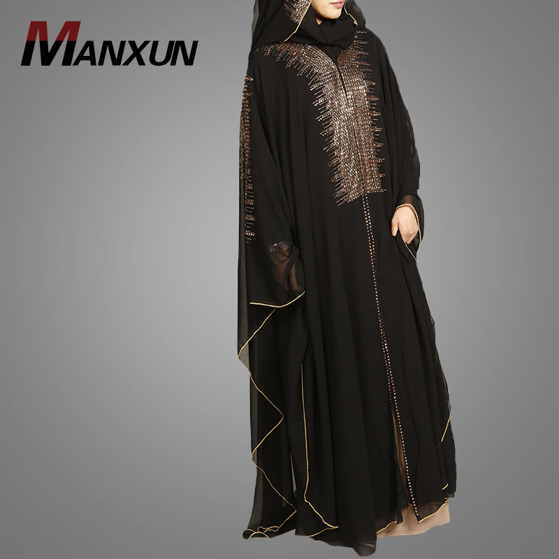 New Hot Sale Muslim Women Abaya Islamic Cardigan Printed Dubai Kimono Beautiful Wholesale Muslim Islamic Kimono