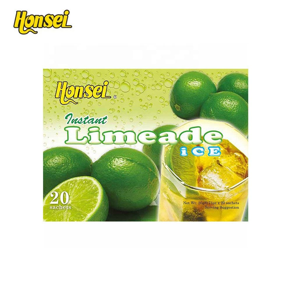 Honsei Most Popular Instant Fruit Limeade Ice Tea