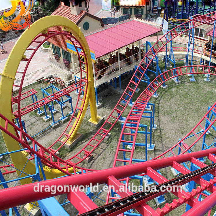 Mini Roller Coaster Space Mountain in China for sale