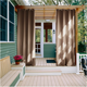 China manufacturer cheap waterproof outdoor curtains