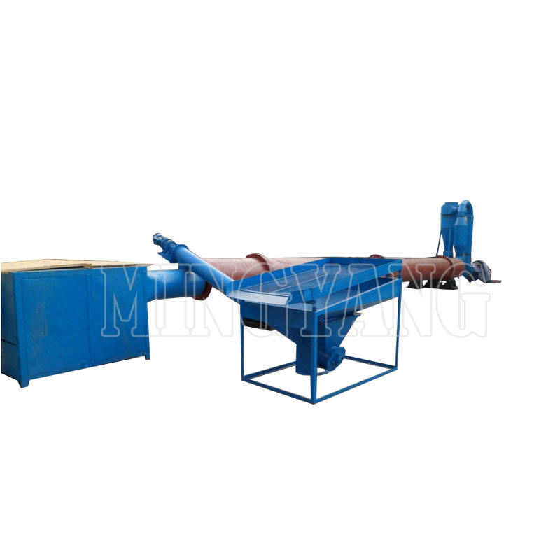 China Professional Airflow Drier For Sawdust Wood Sawdust Drying Machine Hot Air Sawdust Pipe Dryer