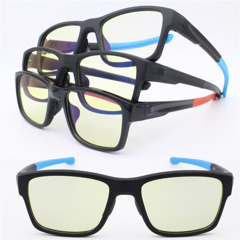 Computer glasses anti blue light blocking glasses brand your own TR90 gaming eyeglasses