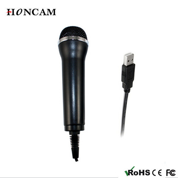 HONCAM Có Dây USB <span class=keywords><strong>Karaoke</strong></span> <span class=keywords><strong>Chuyên</strong></span> <span class=keywords><strong>Nghiệp</strong></span> Microphone cho PS3/PS4/Xbox one/360/Wii/Wii U /PC