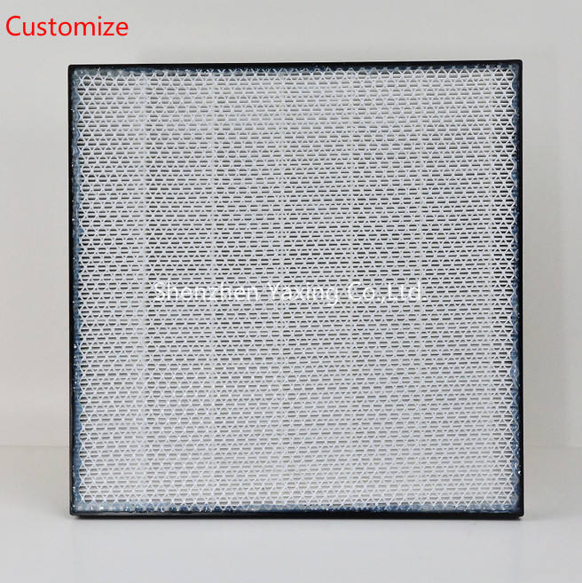 customize Central Air Conditioning Fresh Air Ventilator Exhaust Air Eggcrate Grill filter