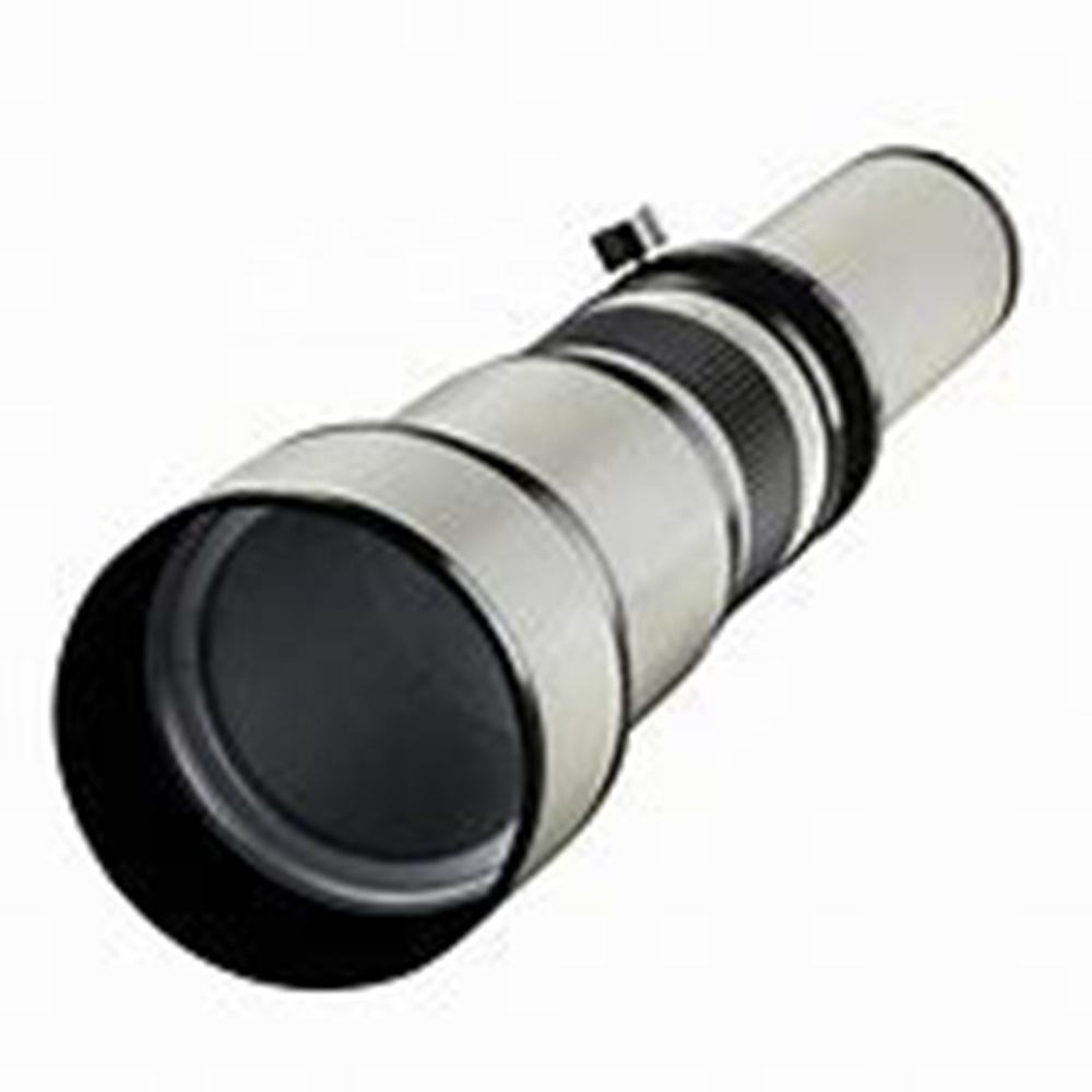 Trend item 650-1300mm F/8-16 camera lens + T-Mount for Canon and Nikon