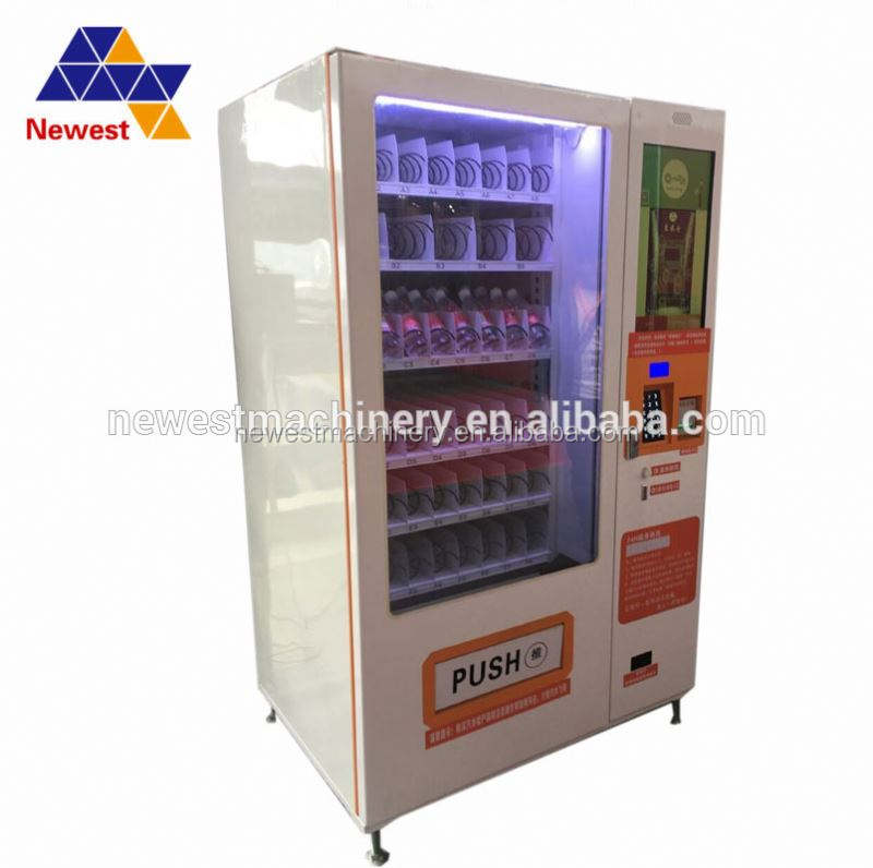 Best selling cold drink vending machine/snack food vending machine/food dispenser machine