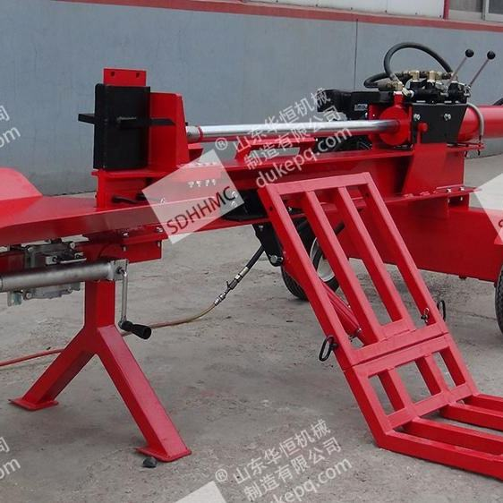 Cheap 40Ton Diesel Powered Engine Wood Log Splitter With Lifting Arms&CE Certificate For Sale