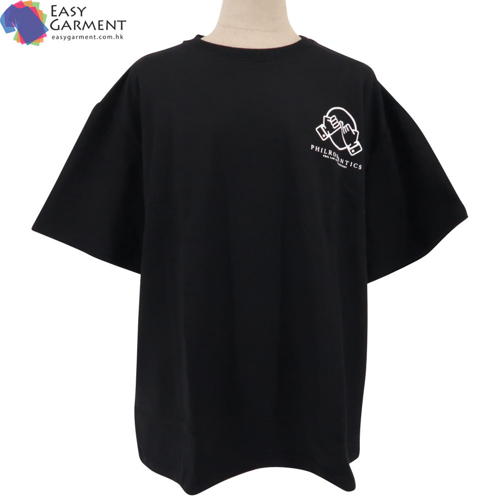 Custom made slim fit 3m reflective ringspun cotton oversized quick dry black tee shirt for running
