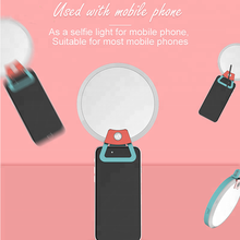 Selfie ring light led flash light  rechargeable enhancing phone