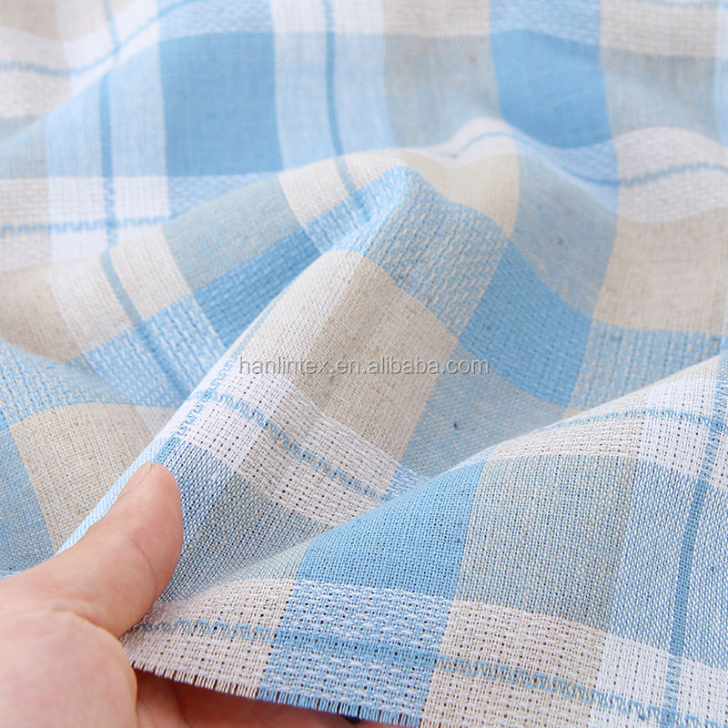 stocklot wool touch feeling check plaid pattern yarn dyed cotton twill brushed flannel for shirt