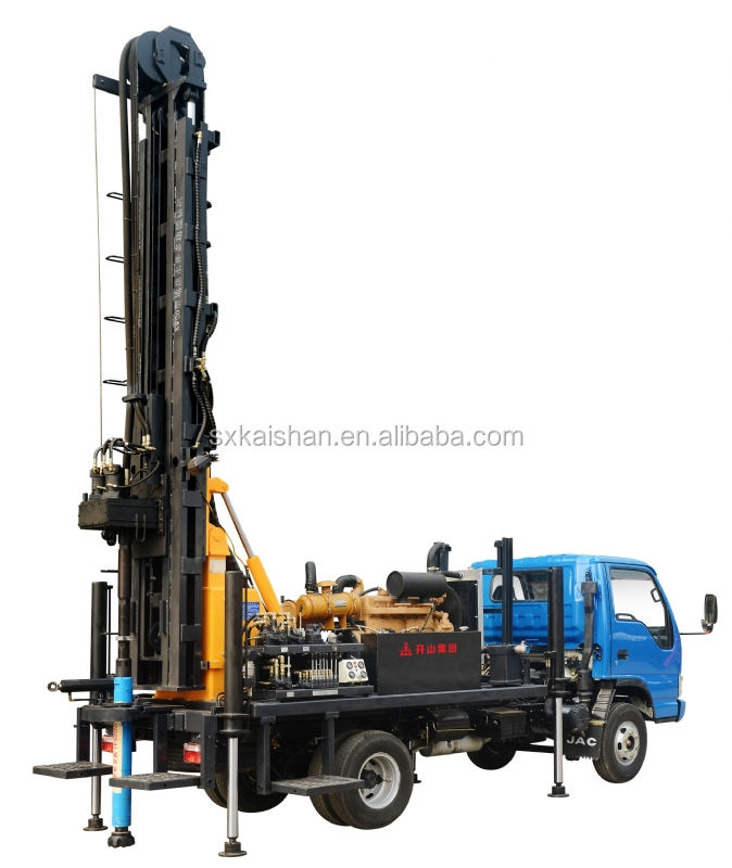 KW20 truck mounted water well drilling rig,water well drilling machine