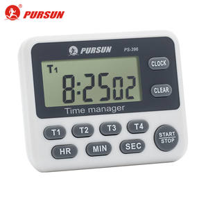 Pursun PS-396 4 Channel Countdown Timer Digital