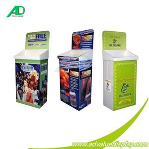 Kartonnen Merchandising Display Dump Bins Kartonnen Display Bin Voor Retail Display