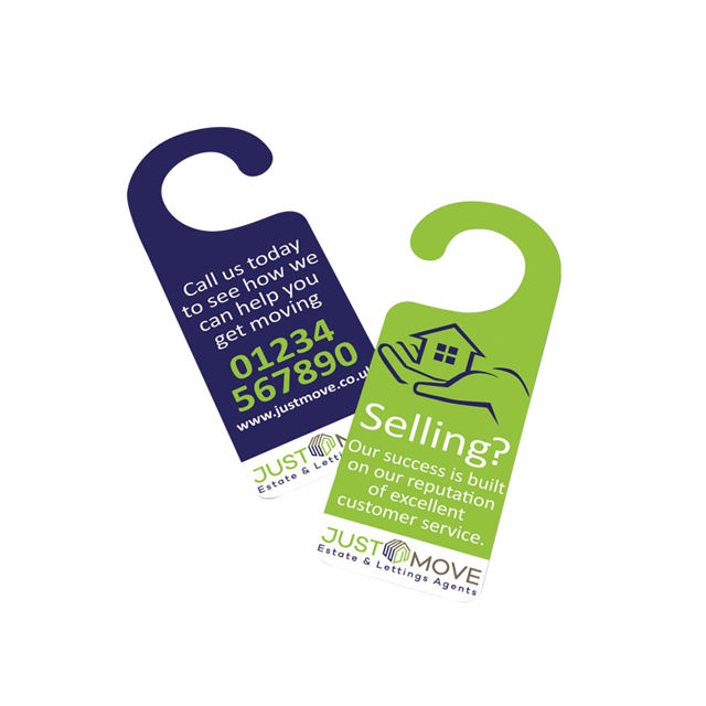 Top Quality Hotel Door Hang Tags With Roundhole, Shop Store Marked Paper Lales With Hook