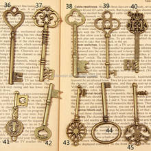 Wholesale Custom Antique Skeleton Key for decoration