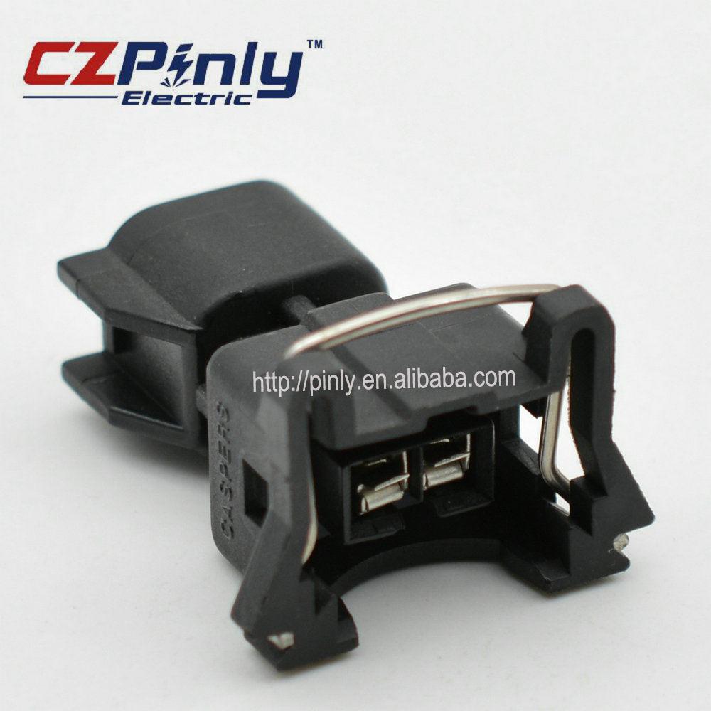 4 Stücke Gummi Boot Timer Einspritzventil Verdrahtung EV1 Terminals Stecker