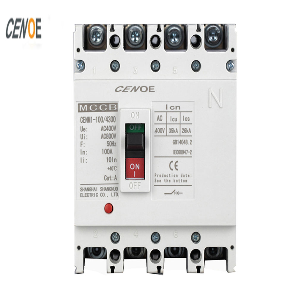 Custom Logos New Model Circuit Breaker MCCB 125 Ratings