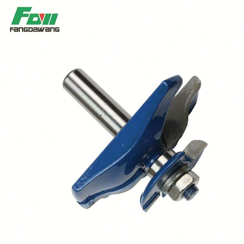 Woodworking Router bit Raised Panel Bit With Back Cutters for wood decoration