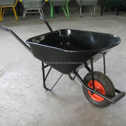 WB6600 Metal Garden Wheelbarrow