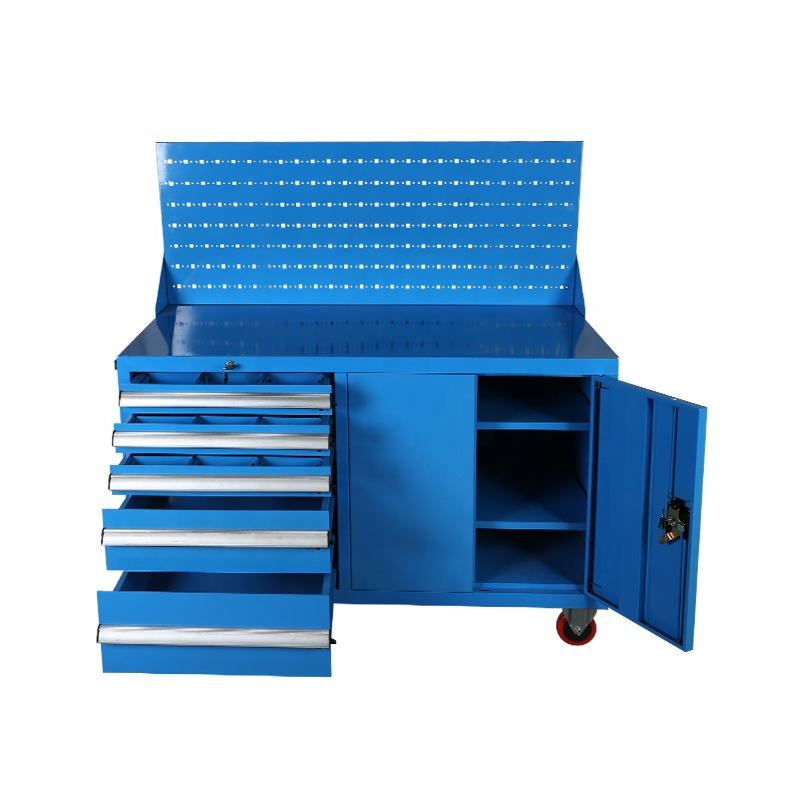 Heavy Duty Roller Steel Tool Cabinet Metal Storage Tool Trolley Chest