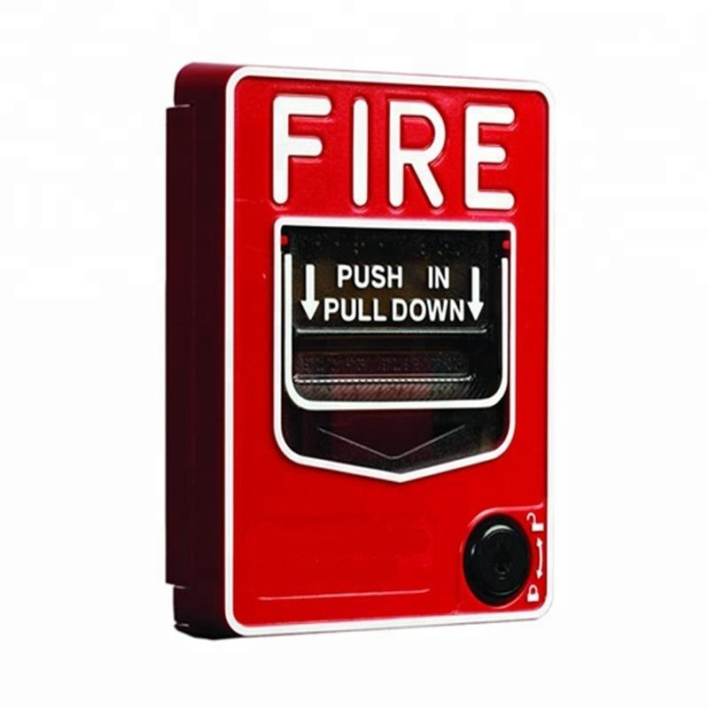 Conventional Fire Alarm Manual Call Point Emergency Pull Station Electronics Wholesalers