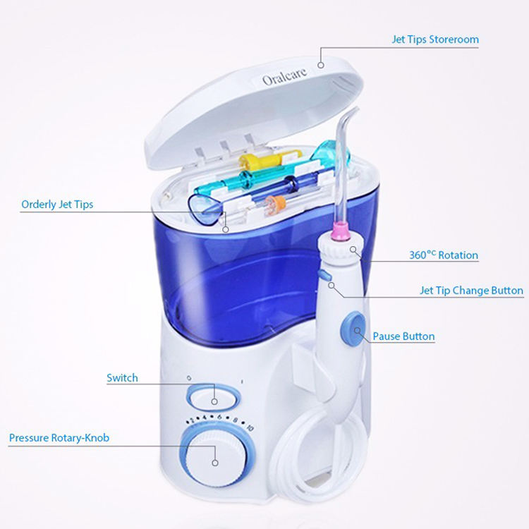 Health Home dentist oral irrigator water flosser pik OC-1200