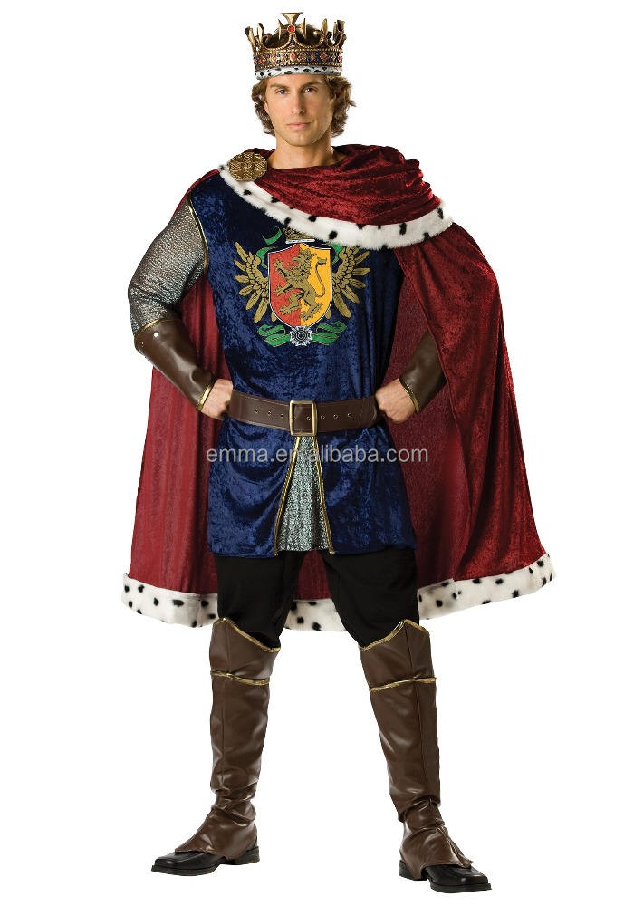 King Carnival costumes best quality men cook halloween costumes bulk BMG17008