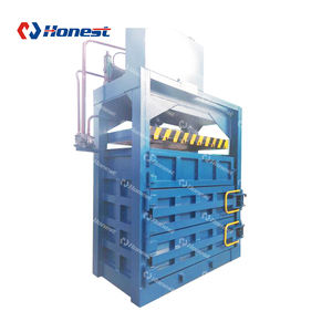Factory Price Scrap Tire Recycling Baler Machinery