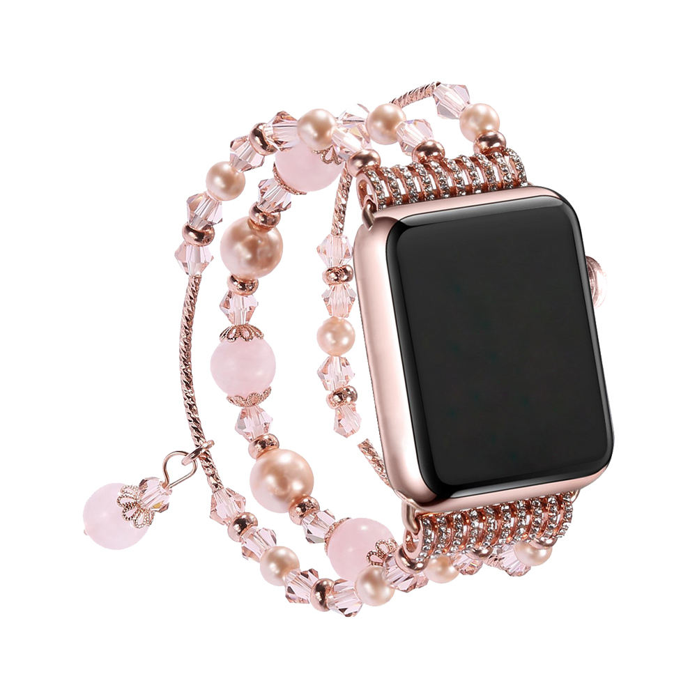 Handmade Women Jewelry Bracelet Replacement Strap For Apple Watch Series 1 2 3