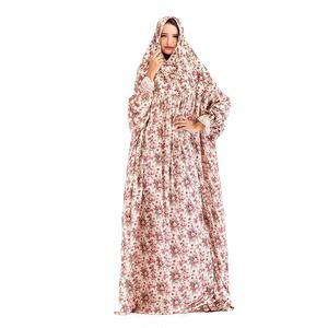high fashionable muslim women chiffon kaftan maxi dress