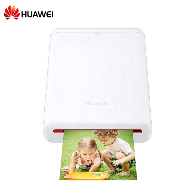 JEPOD Huawei mobile bluetooth portable printer mini impresora home sprocket Inkless Color Pocket photo printer with ZINK