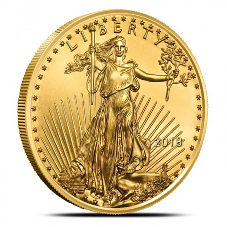 Promotional custom size 3D design brass gold coins