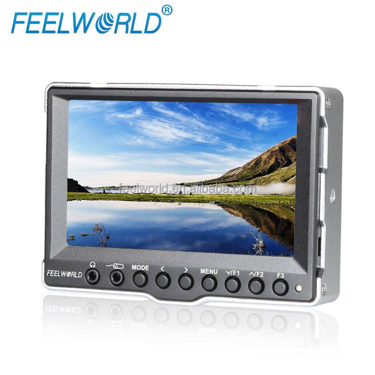 FEELWORLD Professional 5 Дюймов Портативный CCTV Тестовый Монитор с Входом HDMI и Выход