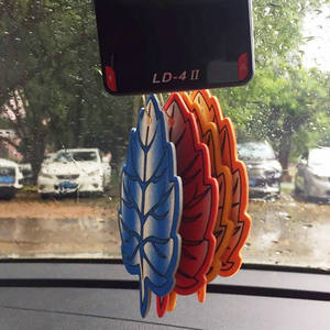 Hot products high quality custom nice scent tree shape home air freshener for car