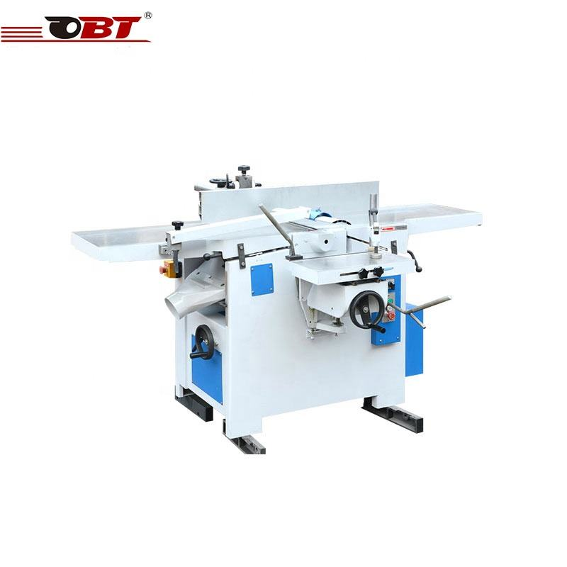 Combined universal machine multifunctional high jointer planer thicknesser